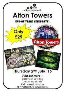 Alton Towers EOY Poster